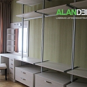 ALANDEKO furniture wardrobe shelves
