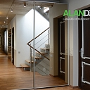 ALANDEKO furniture built-in closets sliding mirror door