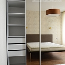 ALANDEKO furniture built-in closets sliding doors mirrors