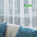 ALANDEKO curtains decorative pillows