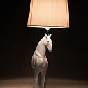 ALANDEKO interesting table lamp horse