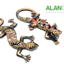 ALANDEKO interior gifts decorative figurines lizards