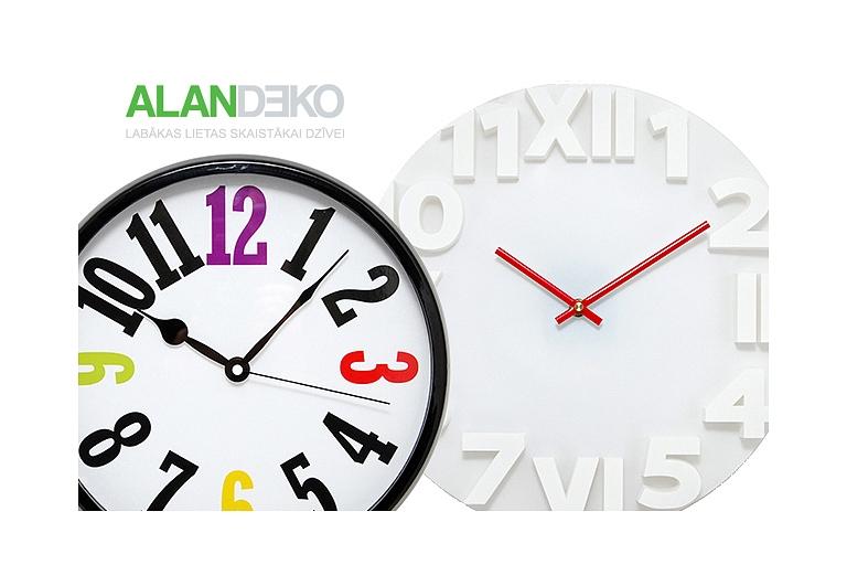 ALANDEKO interjers dāvanas pulksteņi
