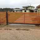 Wooden fences, Home gates