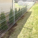 Panel fence, Installation