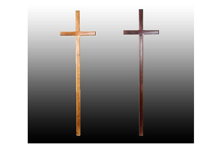 Кресты, Похоронные принадлежности