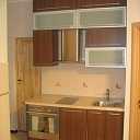 Facades of various types of cupboards
