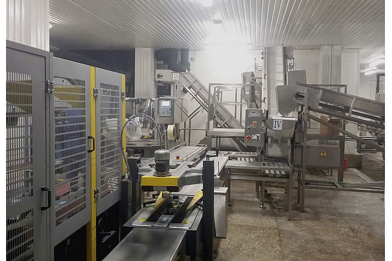 Dosing and packaging line 2t per hour