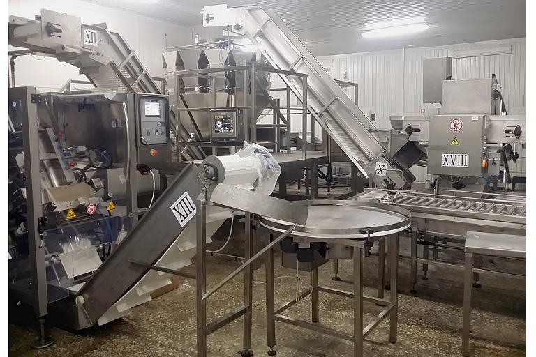Dosing and packing line 2t per hour