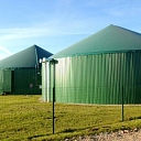 Biogas, biogas production, energy resources. Heat and electricity production