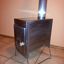 Stainless steel stoves for heating, heating stoves