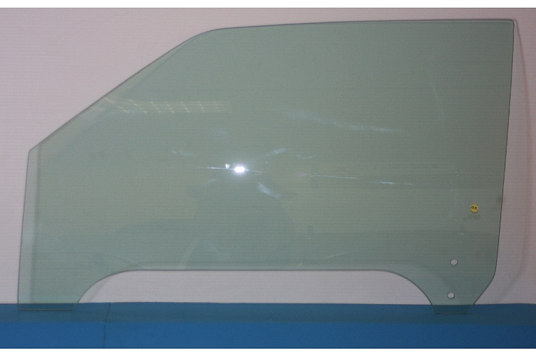 3545LGNT2FD1H FORD ESCORT IV 2D CABRIO 90 98  Car Door Window   Auto Glass Green   Front Left   2 Holes