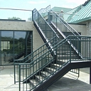 Metal stairs, Stairs