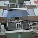 Balcony glazing