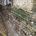 Concreting and strengthening the foundations
