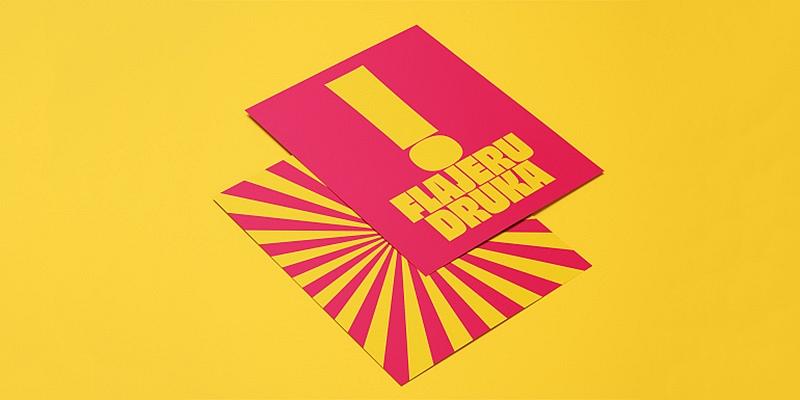 Reklāmas materiālu druka - flajeri