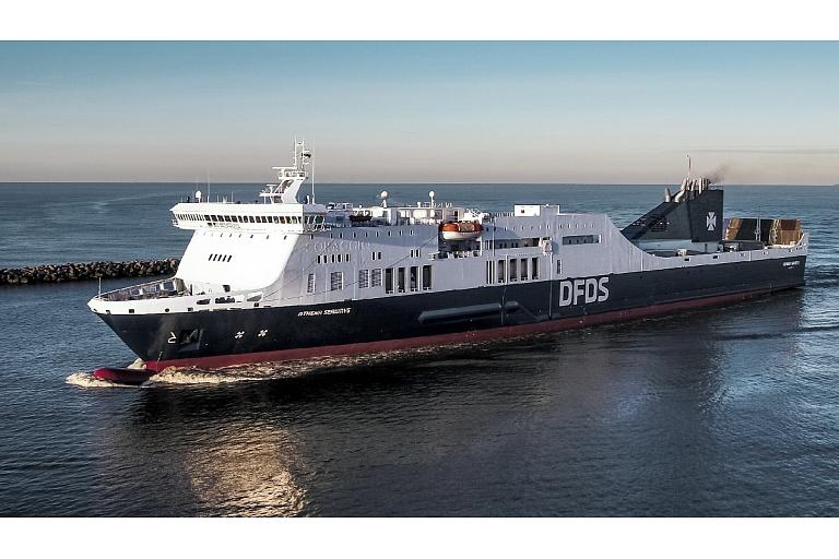 Athena seaways prāmis Ķīle Klaipēda Vācija Lietuva