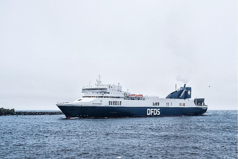 Optima Seaways Prāmis Karlshamna Zviedrija