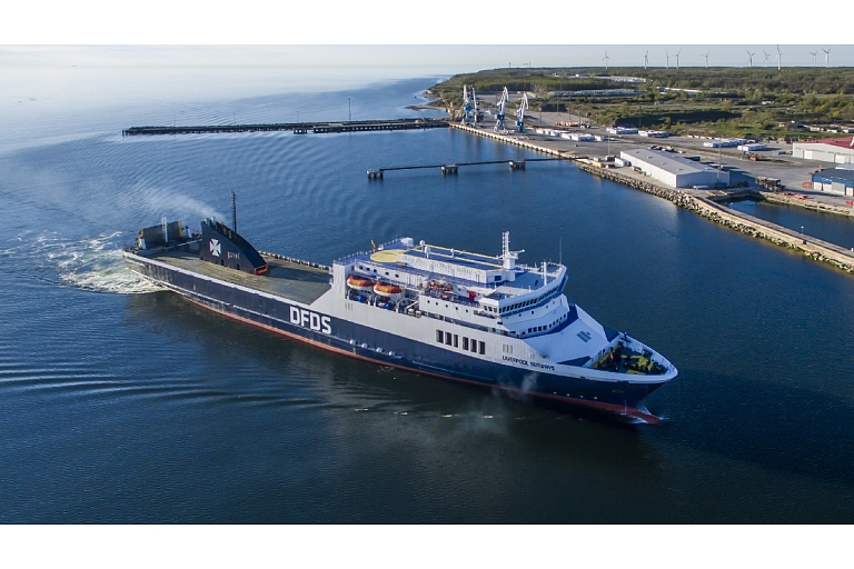 Liverpool Seaways Kapelskāra Zviedrija Igaunija Paldiski