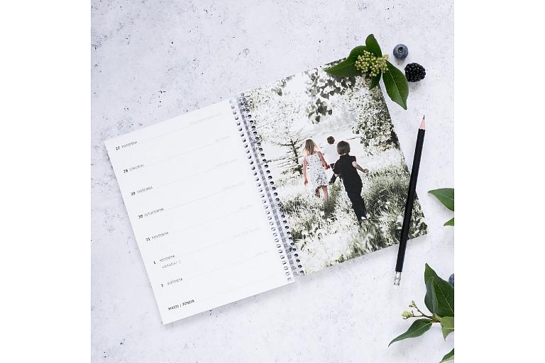 Personalizēts plānotājs plānotājs kalendārs riga plānotājs ar bildēm esmilufoto copypro