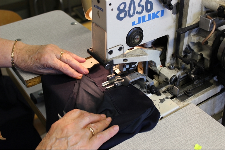 Clothing industrial sewing in Latvia