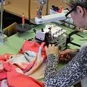 Latvian textile manufacturers sew clothing for export