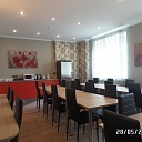 Гостиница Happy hotel Riga breakfast room