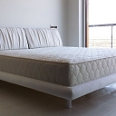 Eco leather bed Beate