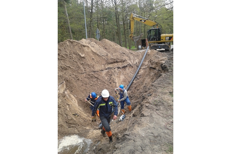 Sewerage system construction