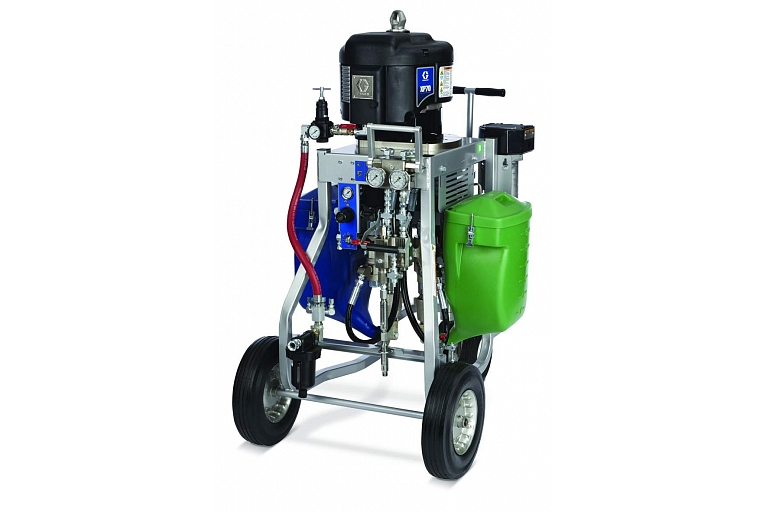 GRACO 2 component plant fixed proportion