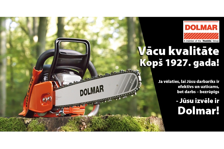 Chainsaws Dolmar in Madona