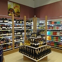 Alcohol shelves