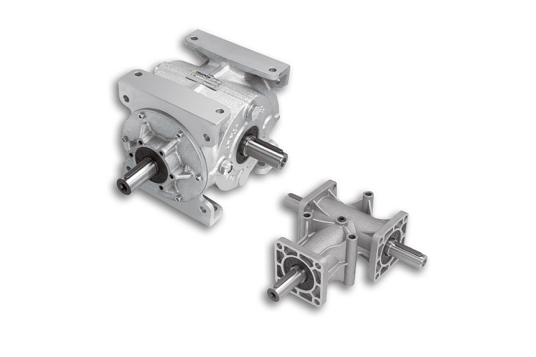 Angle reducer, automation components and systems