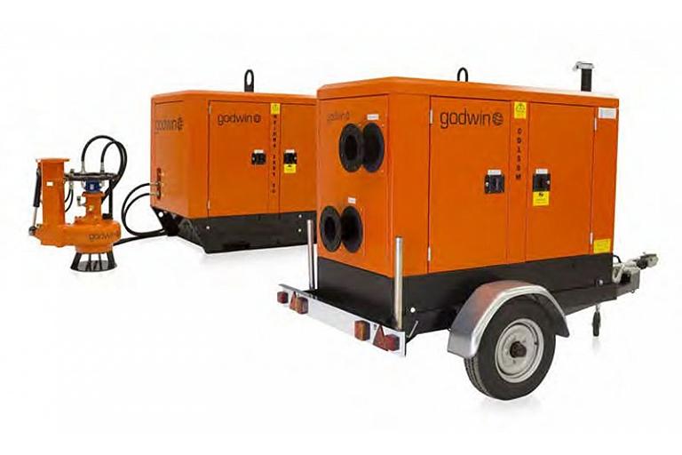 Groundwater lowering equipment