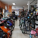 Moto equipment and bicycles