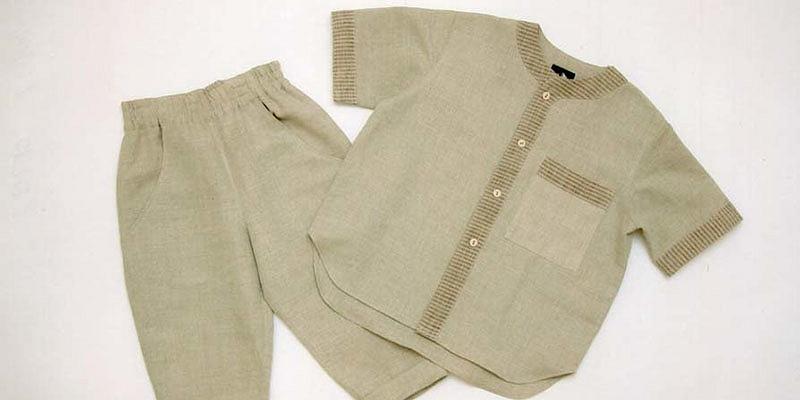 Bērnu lina apģērbi