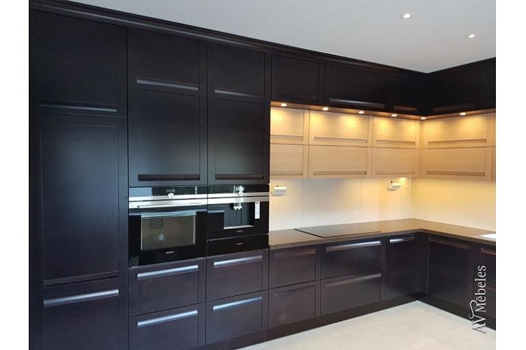 Virtuves mēbeļu izgatavošana pēc pasūtījuma