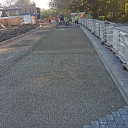 Paving works