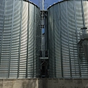 Grain storage tanks - silage construction