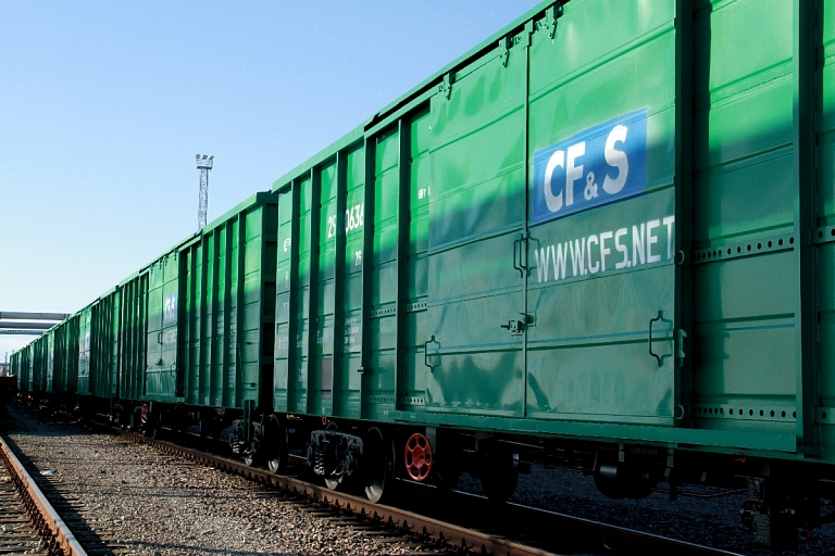 Cargo transportation is covered in standard wagons