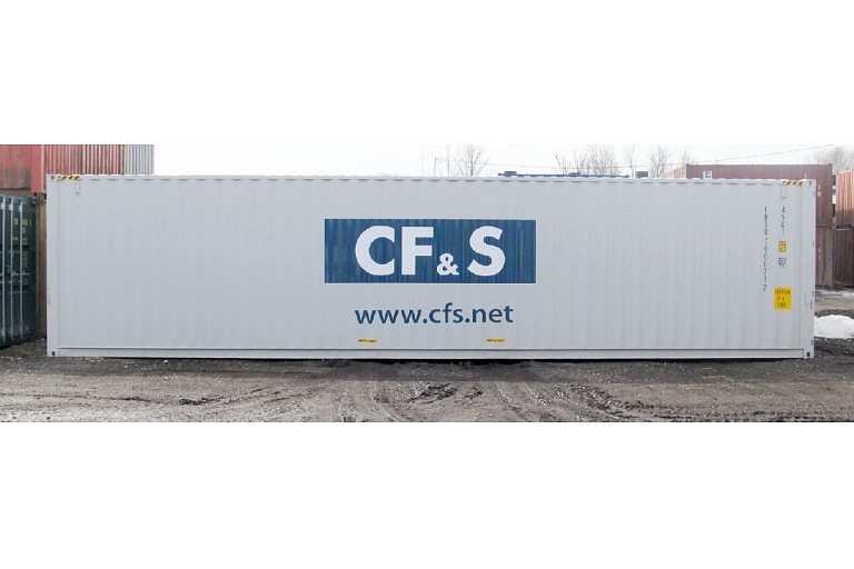 Cargo transportation in SM containers