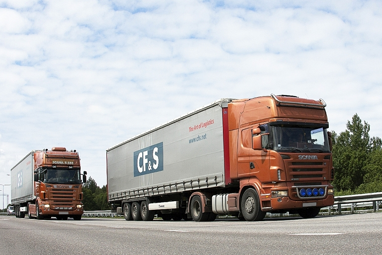 Partial loads Europe, CIS countries