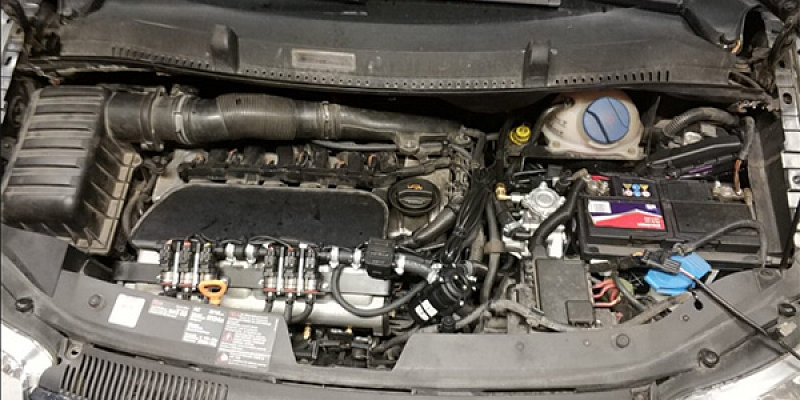 Установка газового оборудования для авто
