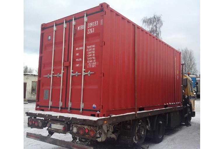 Jauni konteineri