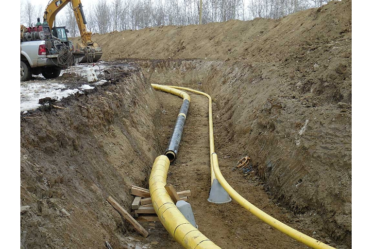 Installation of gas systems