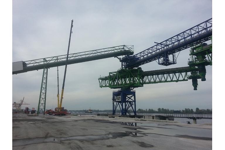 Ceļamkrānu remonts, celtņu montāža visā Latvijā