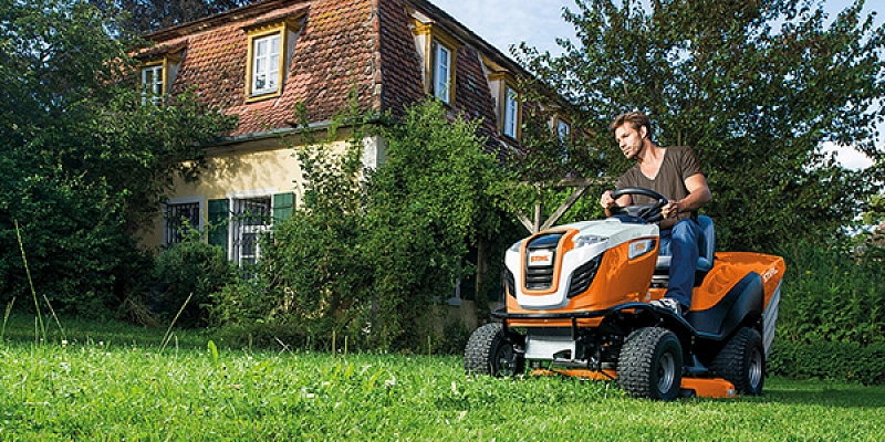 STIHL dārza traktori