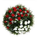 Funeral services, funeral wreaths
