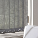 Vertical blinds for the office