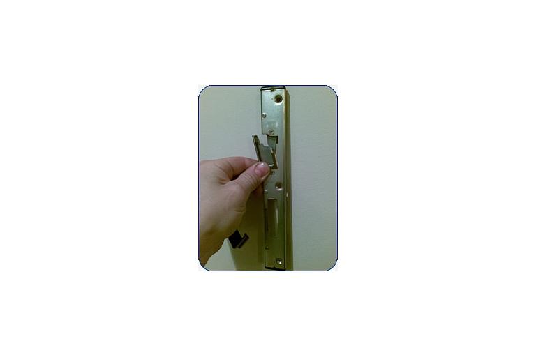 Plastikāta durvju remotns